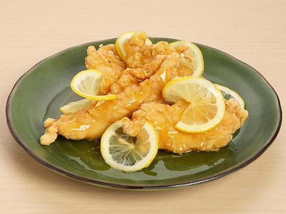 鶏むね肉のレモンチキン