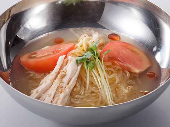 ハーフ韓国冷麺